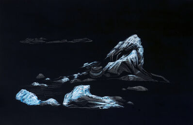 Diego Narváez, 'Reflection of Jökulsárlón', 2015