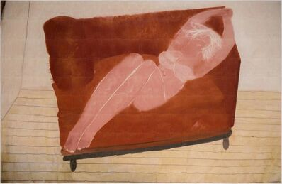 Azade Köker, 'On the Red Sofa', 2017