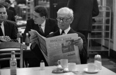 John 'Hoppy' Hopkins, 'Banker, Stock Exchange, London', 1961