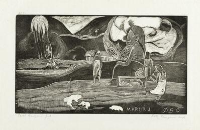 Paul Gauguin, 'Maruru'