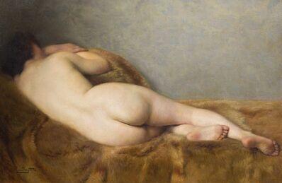 Paul Sieffert, 'Nu allongé de dos'