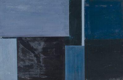 Sam Gilliam, 'Baby's Blue', circa 1963
