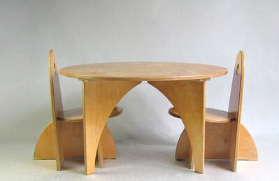 Ko Verzuu, 'ADO Playtable & Chairs'