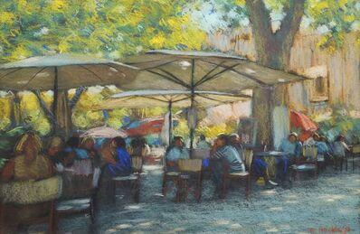 John Mackie, 'European café street scene'