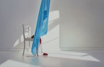 Edite Grinberga, 'Room with blue', 2018