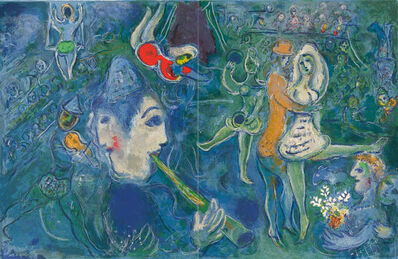 Marc Chagall, 'UNTITLED FROM THE CIRCUS', 1967