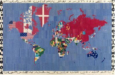 Alighiero Boetti, 'Mappa acquolina in bocca dell'anno 84 Alighiero e Boetti Afghanistan', 1983-1984