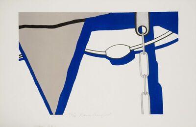Ralston Crawford, 'Lifeboat Detail', 1952