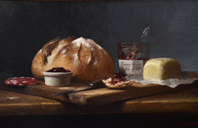 Sarah Lamb, 'Bonne Maman and Butter', 2018