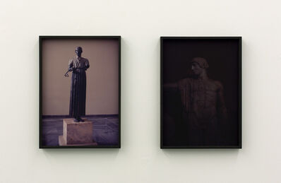 "Talisa Lallai, '""Untitled (Statue) #2"" and ""Untitled (Statue) #1""', 2015"