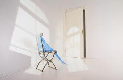 Edite Grinberga, 'Room With blue cloth', 217
