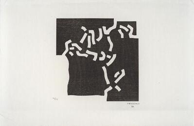 Eduardo Chillida, 'Beltza II', 1969