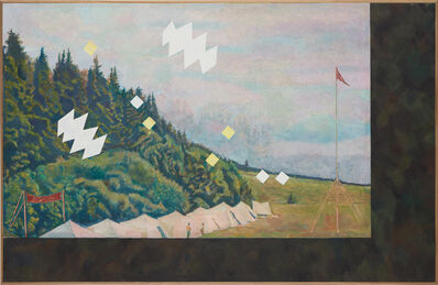 Ilya Kabakov, 'Landscape with a Pioneers Camp, 1973', 2002