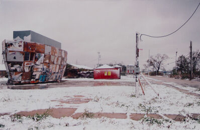 Mark Bradford, 'Ark in the Snow', 2008
