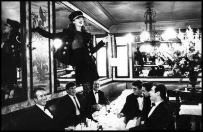 Arthur Elgort, 'Kate Moss, Café Lipp, Paris', 1993