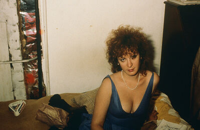 Nan Goldin, 'Self-portrait in blue dress, New York City, 1985', 2020