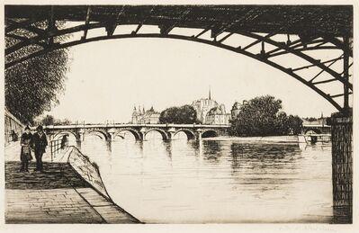 Christopher Richard Wynne Nevinson, 'La Cité, Paris (Black 114)', 1926-1927