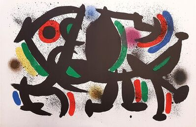 Joan Miró, 'Mirò Lithographe I - Plate VIII', 1972
