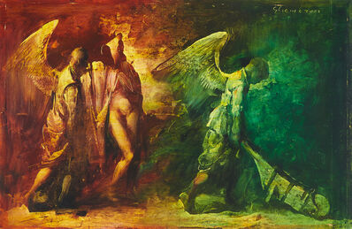 Adrian Ghenie, 'Aripile Destinului [Flügel des Schicksals]', 2002