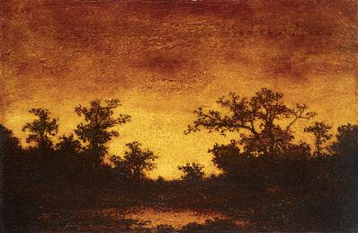 Ralph Albert Blakelock, 'Red Landscape'