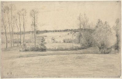 Camille Pissarro, 'Trees and Meadows at Eragny', 1895/1900