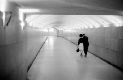 Pierre Jamet, 'Amoureux du tunnel sous l'Etoile, Paris', 1968