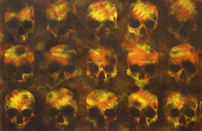 Sabino Guisu, 'Orange Tzompantli', 2019