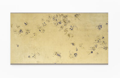 Pierre Vermeulen, 'Hair orchid sweat print in space, blue layer', 2018