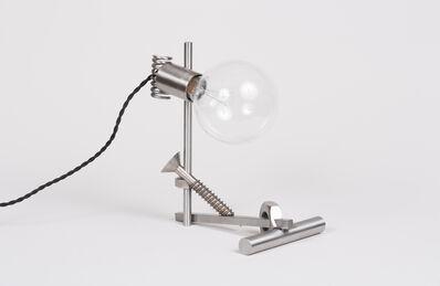 """Emmett Moore, '""""DLSS"""" Lamp', 2015"""