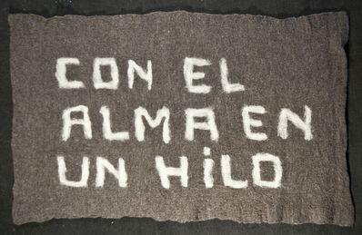 Nury González, 'Con el alma en un hilo', 2012