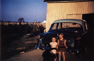 Guy Stricherz, 'Americans in Kodachrome 1945-65, Children with Gun, Ruel, Indiana. Photographer: Larry Ballard', 1953