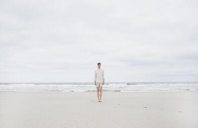David van Dartel, 'Self-portrait on the beach I / Zelfportret op het strand I', 2014