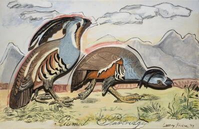 Larry Rivers, 'Plumed Partridge', 1997