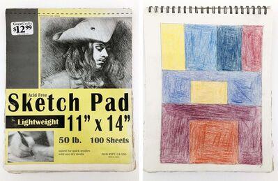 Elmer, 'Untitled Sketchbook', 2016-2018