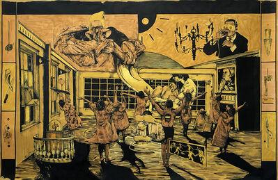 William Buchina, 'Scenery in Yellow #1', 2019