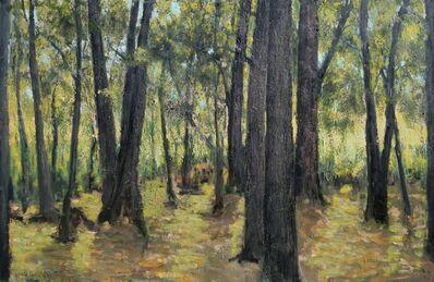 Albert Hadjiganev, 'Sous bois'