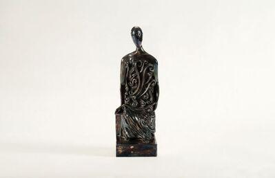 Giorgio de Chirico, 'L'Archeologo, Figural Sculpture', Italy-1971