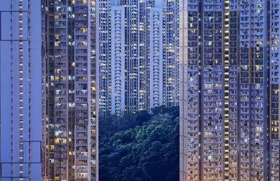 Romain Jacquet-Lagrèze, ''The Blue Moment #24' Hong Kong', 2016