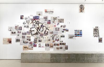 Dan Perjovschi, 'Resist / Exist ', 2018
