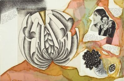 Judy Chicago, 'Study for Virginia Woolf from The Dinner Party', 1978