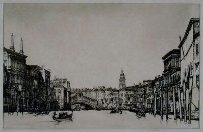 Louis Conrad Rosenberg, 'Grand Canal, Venice', ca. 1920