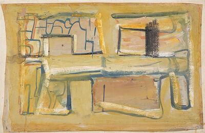 Mario Sironi, 'Composizione', metà anni '50