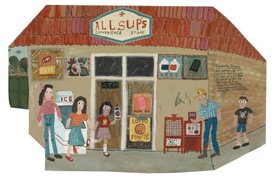 Esther Pearl Watson, 'Allsup's', 2017