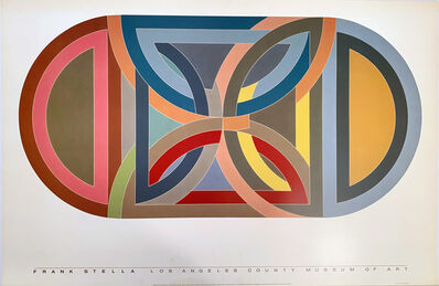 Frank Stella, 'Frank Stella, Los Angeles County Museum of Art', 1984