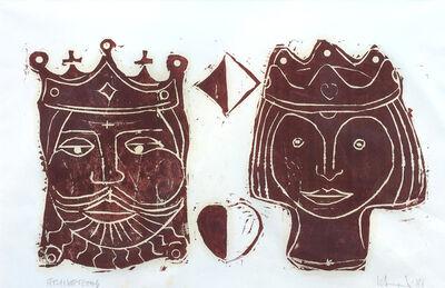 Herbert Siebner, 'King and Queen', 1981