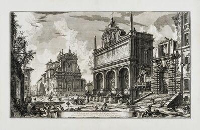Giovanni Battista Piranesi, 'Veduta del Castello dell'Acqua Felice, from: Vedute di Roma', 1751