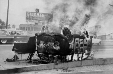 Enrique Metinides, 'Mexico City ( VW burning), 1951', 2016