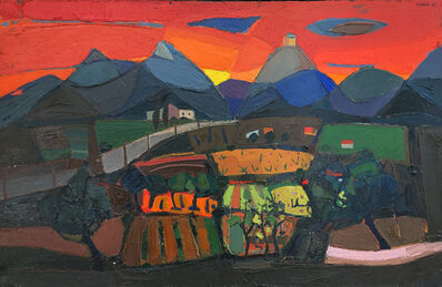 Bruno Zupan, 'Landscape on Fire', 1967
