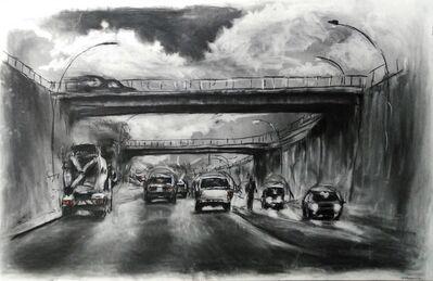 Themba Khumalo, 'Crossing the bridge', 2016