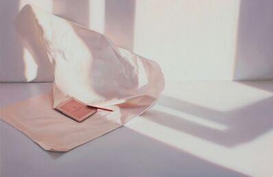 Edite Grinberga, 'Paper sheet with passport', 2018